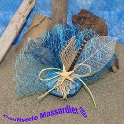 Tulle dragées Mer Atlandide http://www.dragees-massardier.fr/dragees-mariage,fr,2,11.cfm