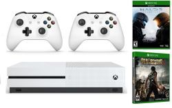 Xbox One S 1TB w/ 2 Games 2 Controllers for $290  free shipping #LavaHot http://www.lavahotdeals.com/us/cheap/xbox-1tb-2-games-2-controllers-290-free/172607?utm_source=pinterest&utm_medium=rss&utm_campaign=at_lavahotdealsus