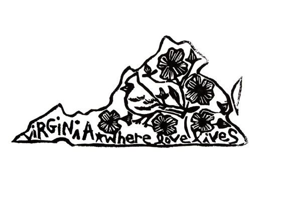 virginia  - i'm not big on state tattoos but this would be cool