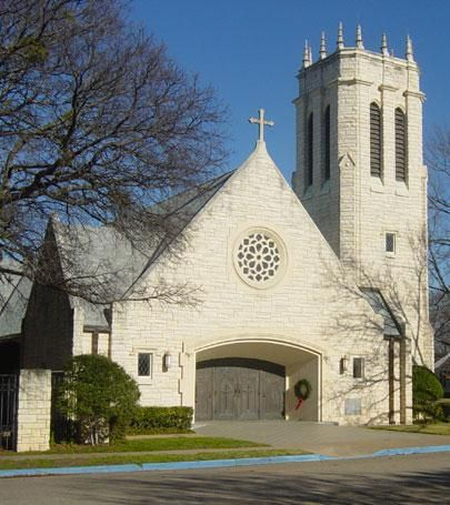 St Alban S Episcopal Church Waco Texas Places Of