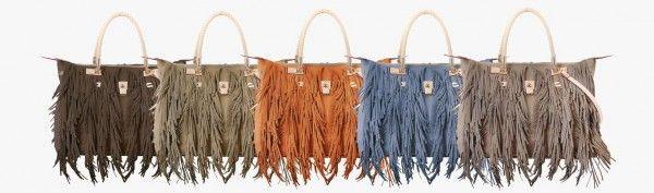 Borse con Frange 2014  #borse #bags #purses #frange #trend #trend2014 #ss2014 #fashion