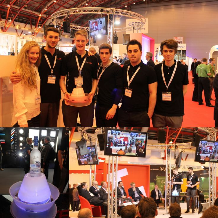 Sedna LED's collaboration with #CardiffMet #University. Students developed the 'Frost Light' with Sedna and entered it into a Dragons Den contest at Lux Live - with astounding success. Learn more at www.sednaled.co/sedna-news
