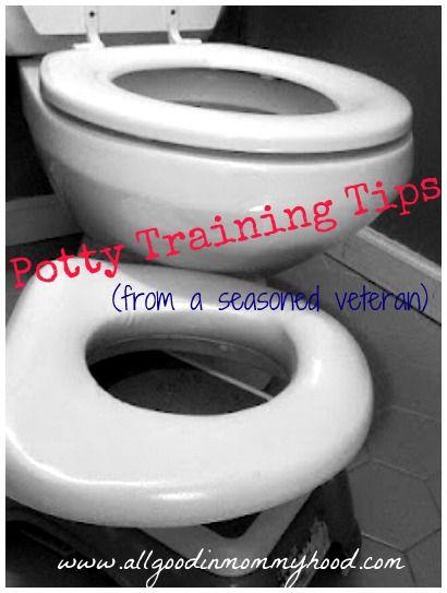 Time to potty train? Potty training tips from a seasoned veteran.