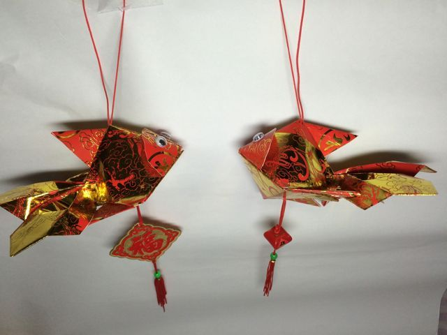 how to make red packet lantern