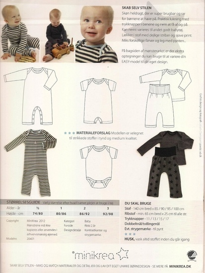 Patroon jumpsuit peuter -bambiblauw.be