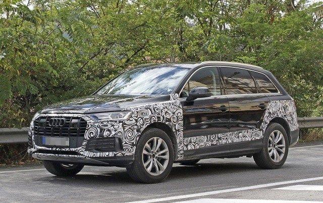 2020 Audi Q7 Facelift Changes Release Date Audi Q7 Audi New Audi Car