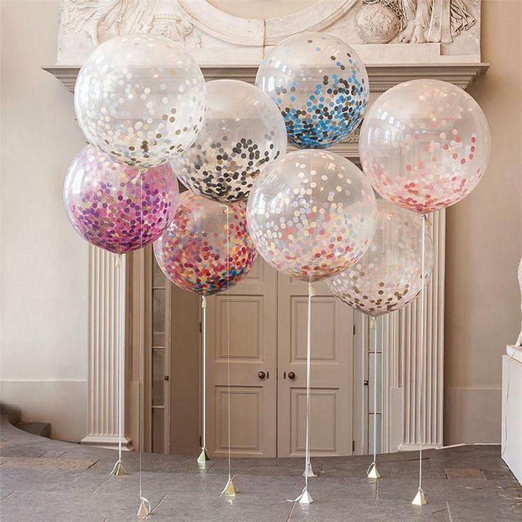 36″ Giant Clear Transparent Helium Air Durable PVC Bubble Balloons