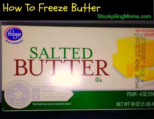 Can you freeze butter?  http://www.stockpilingmoms.com/2013/01/can-you-freeze-butter/