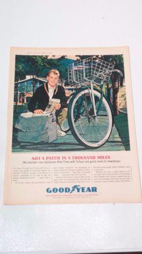 Vintage-1964-Goodyear-Bicycle-Tires-Print-Ad-Paperboy-April-Boys-Life-Magazine