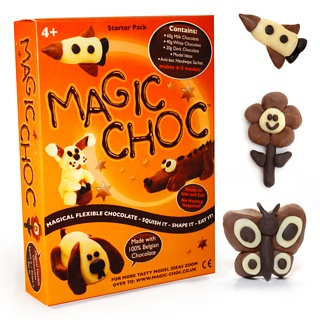 Edible chocolate plasticine, what's not to love?Chocolates Plays, Mouldabl Chocolates, Chocolates Plasticine, Edible Chocolates