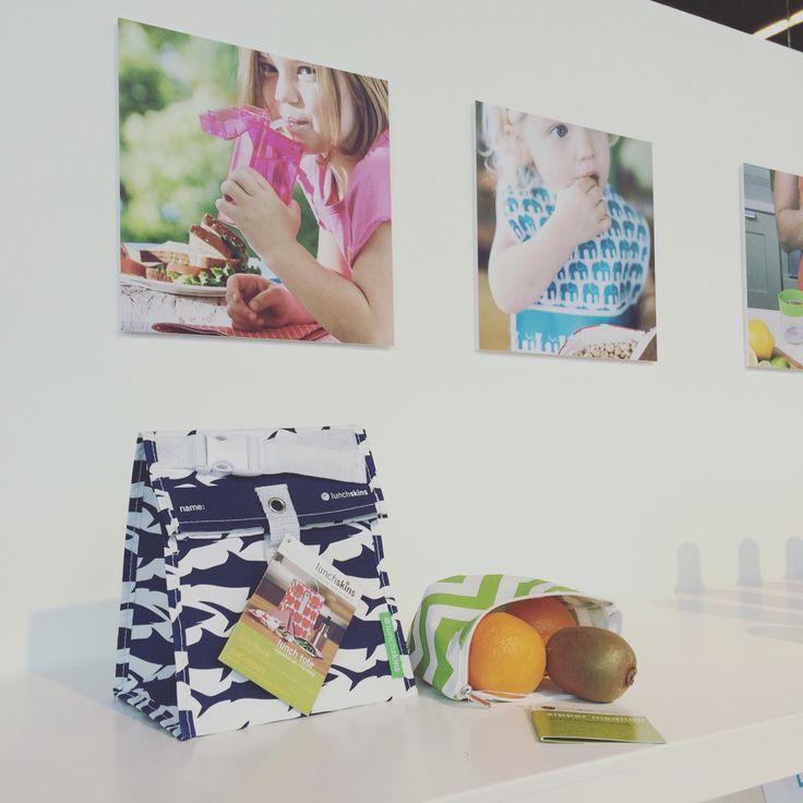 Kleine fabriek 2016 Lunchskins - lunch tote plus zipperbag