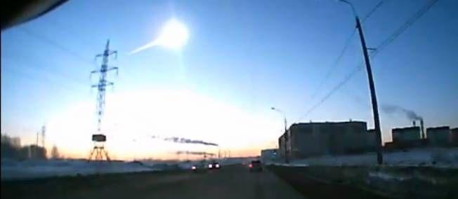 Pluie de météorites en Russie