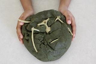 Making dinosaur poo, can't wait!!