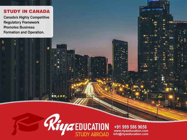 STUDY, WORK AND SETTLE IN CANADA: Where the living is good and the learning is world-class! Visit our website.  #StudyInCanada #StudyAbroad #WorkAndStudyInCanada #InternationalCareer #GlobalCareer #RiyaEducation
