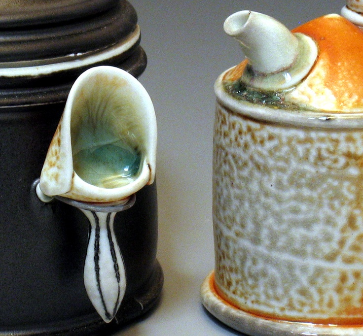 Ceramic Stones Made : Scoop for canisters lorna meaden i want this and to