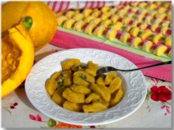 Pumpkin Gniocchi