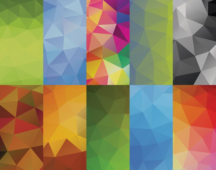 10 Free High Definition Geometric Backgrounds Volume 2