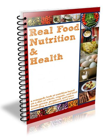 Real Food Nutrition & Health Curriculum--looks like it could be great for older homeschoolers :-)