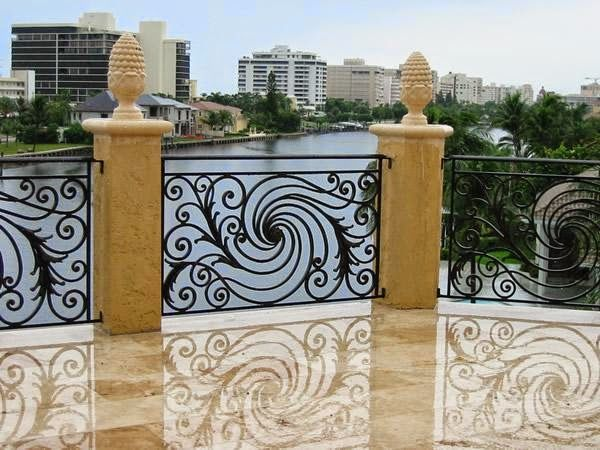 25 best ideas about balcony grill design on pinterest for Terrace grills design