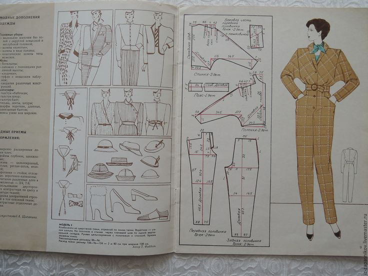 "Купить Журнал ""Я шью сама"", 1981г. №1 (весна) - журнал, журнал мод, мода"