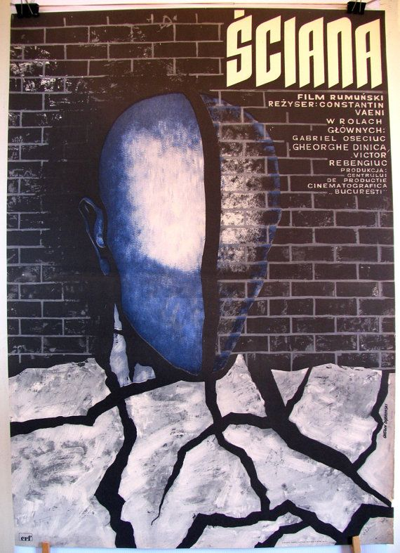 Romanian cinema. Original poster for the famous by artwardrobe, $14.99