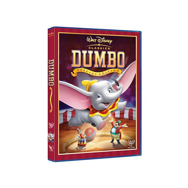 Dumbo DVD ($16) ❤ liked on Polyvore featuring movie