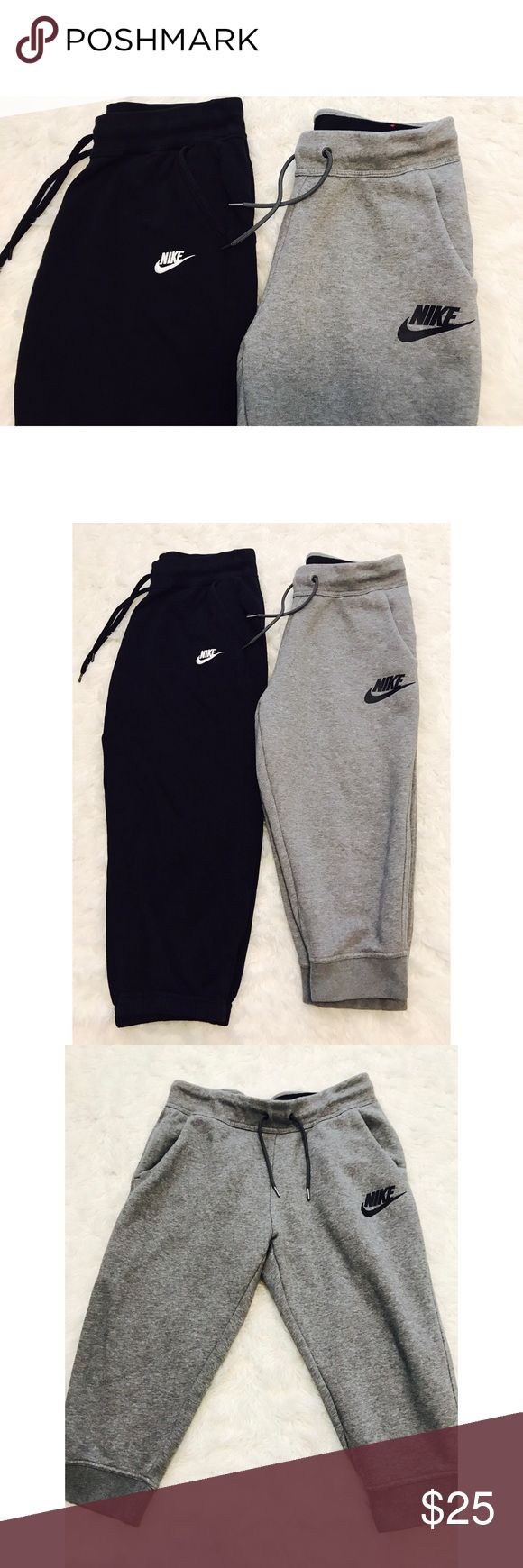 Nike Sweatpants Crops Bundle -Bundle & save!!  -Check out my other listings for more great deals!  -NO TRADES OR HOLDS -I try my best to do next day shipping  ❌❌❌PLEASE DO NOT BUNDLE ANY OF THE LOTS TOGETHER, the shipping weight will be over the limit and I will cancel your order. If you have any questions  - please ask!  ❌❌❌ Nike Pants Track Pants & Joggers