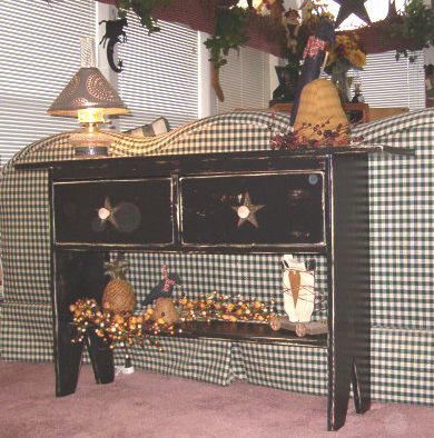 Image detail for -Cabinets - Tables n Benches - Country Quackers Primitives-Primitive ...