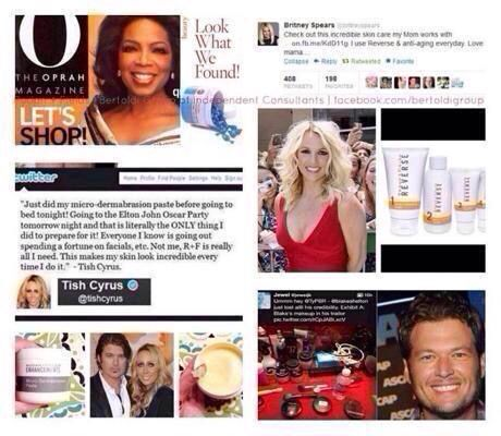 What do Oprah, B Spears, Blake Shelton, and Miley's mom all have in common? RODAN+FIELDS! Learn how to join my business today at await.myrandf.biz