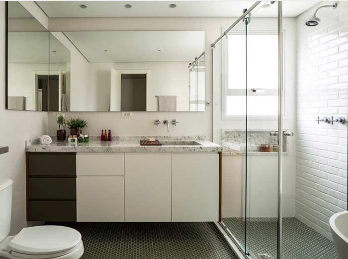 Perfect Banheiro Com Piso Hexagonal. Pictures Gallery