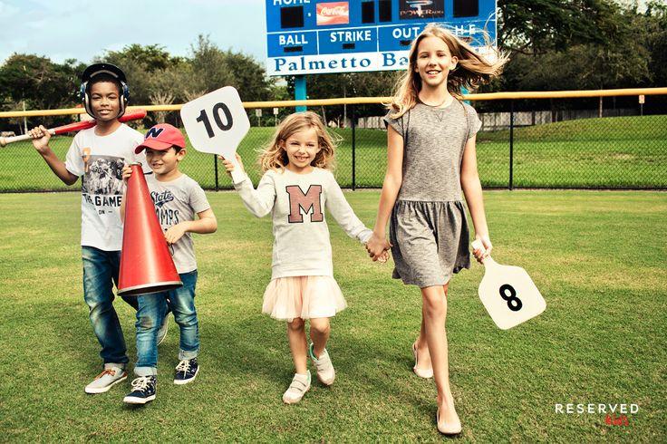 Reserved Kids SS16 #play#games#baseball#summer#dress#