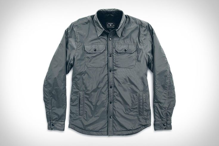 The design of a classic overshirt and the convenience of modern materials is what helps the Taylor Stitch x Mission Workshop Albion Jacket standout from the pack. The exterior is made from two-way stretch windshell nylon that's both water resistant...