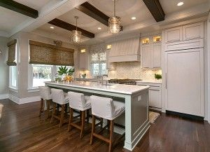 Gorgeous Indoor Kitchen For The Homeowners