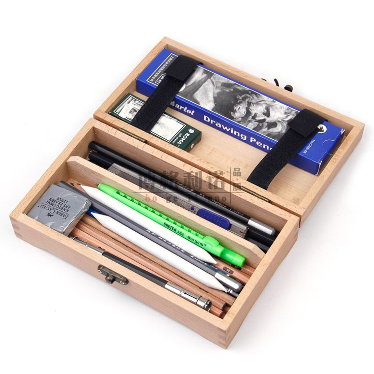 Wooden pencil case  sc 1 st  Pinterest & 25+ unique Wooden pencils ideas on Pinterest | Pencil Drawing ... Aboutintivar.Com