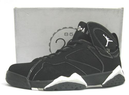 http://www.myjordanshoes.com/air-jordan-7-retro-black-white-p-281.html AIR JORDAN 7 RETRO BLACK WHITE Only $66.40 , Free Shipping!