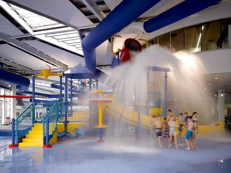 WaterMarc Indoor Splash Park...awesome fun for the whole family!