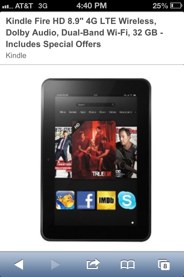 save money when you order the kindle fire!