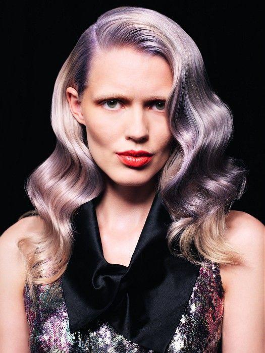 Lavender hair by TIGI International Creative Team