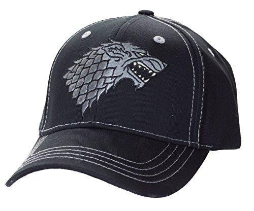 Game of Thrones Stark Baseball Hat (Black)