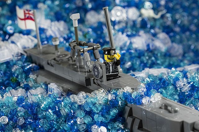 Down periscope with the Brickmania X-Craft Mini Sub