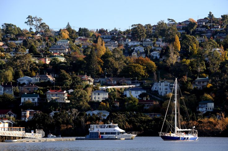 The suburb of Trevallyn has great views over the River Tamar in Launceston. Photo: Chris Crerar