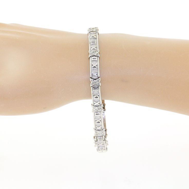 【商品名】 K14WG ホワイトゴールド ダイヤ  0.34ct ブレスレット【価格】¥82,800【状態】A  多少の傷・汚れが見受けられますが全体的には綺麗な状態の中古商品です。