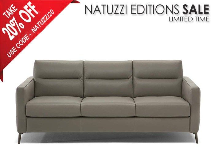 Natuzzi Editions C008 Fascino Leather