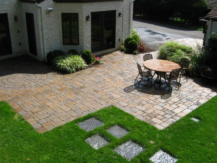 Cheap Paver Patio Ideas Paver Patio Designs Patio Designs Landscape Designer  In Bergen County Nj Paver