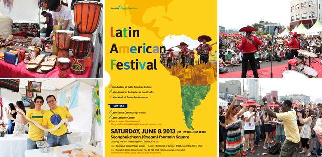 Latin American Festival in Seoul on June 8   Official Korea ...
