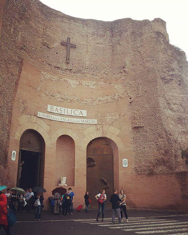 Chiesediroma. Santa Maria degli Angeli. Roma. Italy.