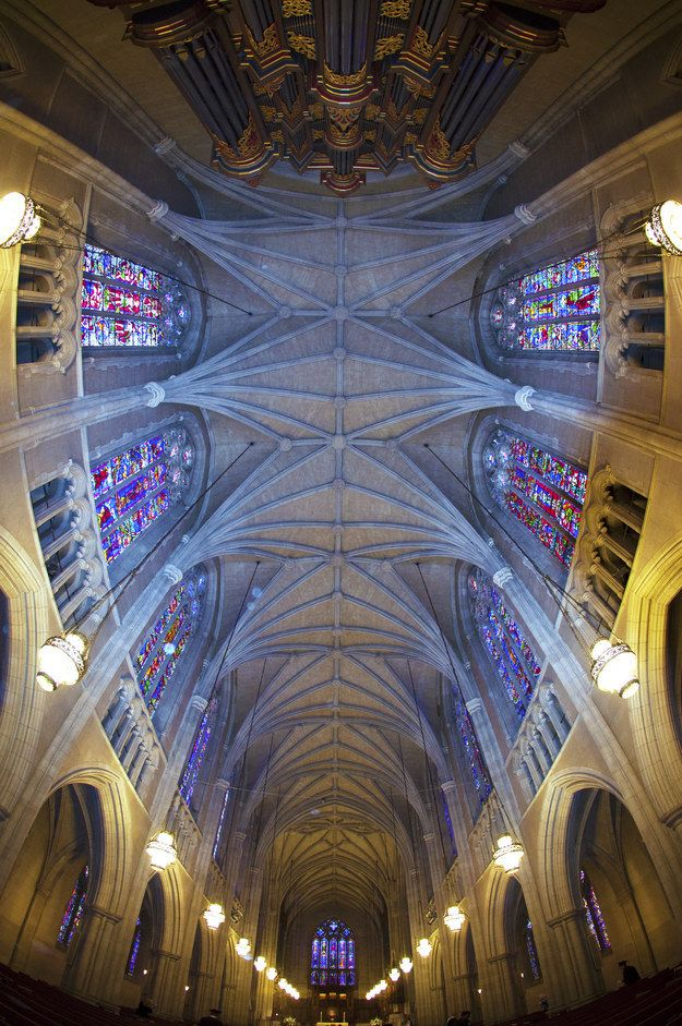 Once you head indoors, Duke's chapel gets even cooler | 11 Reasons Why Duke University Has A Charming Campus
