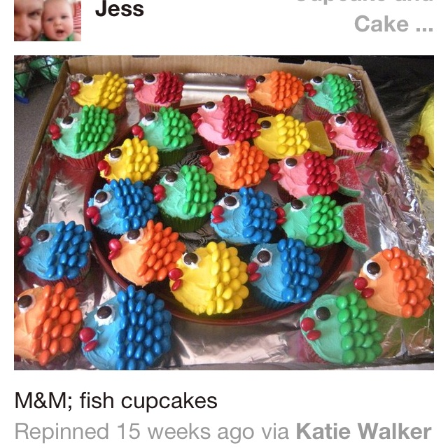 Fish Cupcakes Are Super Easy To Make