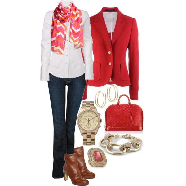 nice: Blazers Blazers, Women Fashion, Red Blazers, Untitl 215, Style, Casual Friday Outfits, Polyvore, Casual Fridays, Friday Outfits For Work