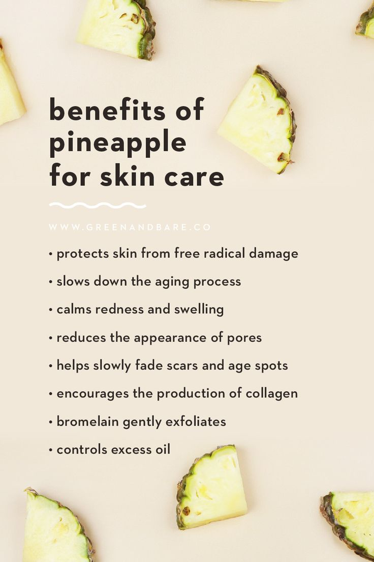 Benefits of Pineapple for Skin Care in 2020 Natural skin